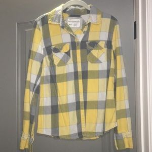 Yellow and Gray Flannel